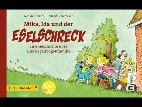 Kinderbuchvideo: »Mika, Ida und der Eselschreck. Eine Geschichte über eine Regenbogenfamilie«