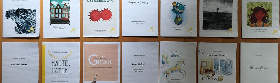 Viele Corona-Bilderbücher