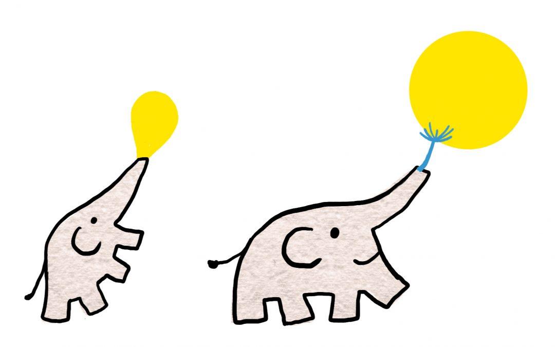 Der HopeLit-Elefanten-Gruß