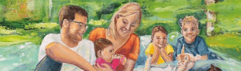 Wie Mamas Welt wieder farbig wurde